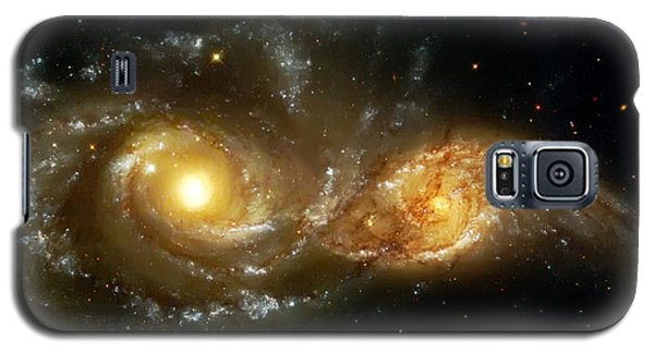 Two Spiral Galaxies Galaxy S5 Case