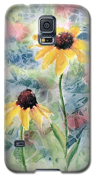 Two Sunflowers Galaxy S5 Case
