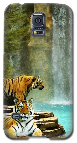 Two Tigers Galaxy S5 Case