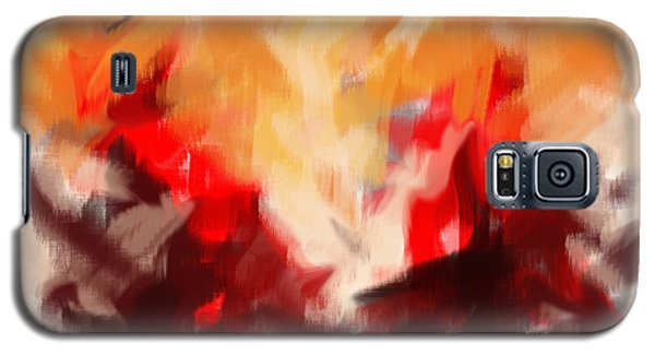 Two To Tango Abstract Galaxy S5 Case