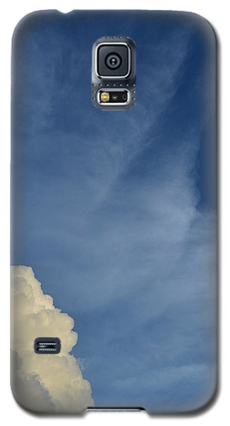 Two Tone Clouds 9384 Galaxy S5 Case