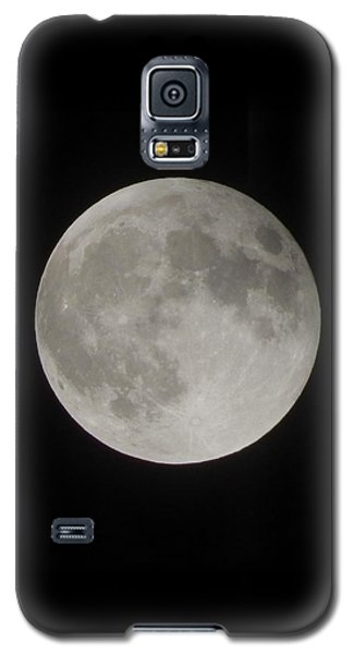 Two-tone Gray Moon Galaxy S5 Case