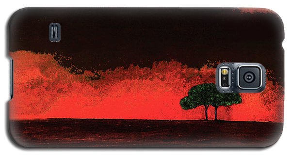 Two Trees In Tuscany Galaxy S5 Case
