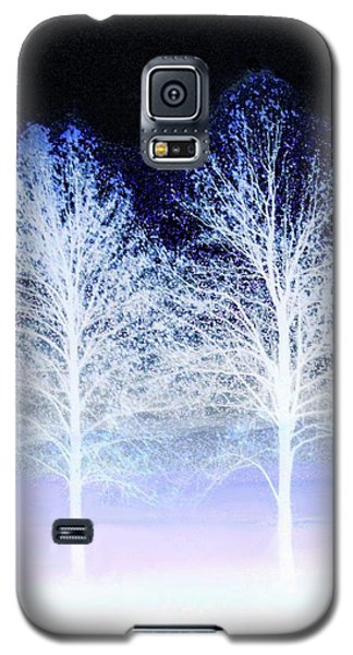 Two Trees In Winter Galaxy S5 Case