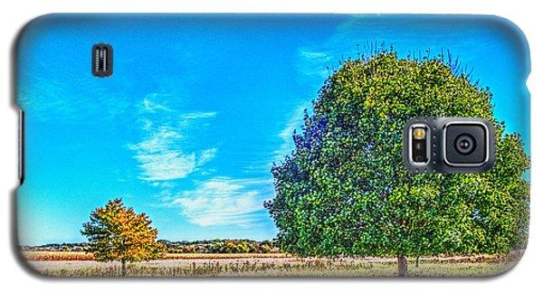 Two Trees On The Illinois Prairie Galaxy S5 Case