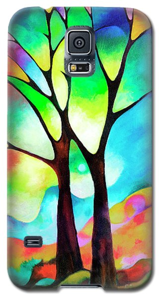 Two Trees Galaxy S5 Case by Sally Trace