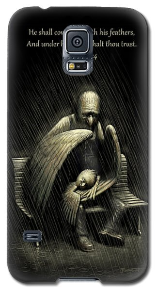 Two Wings And A Prayer - With Psalm 91 Galaxy S5 Case