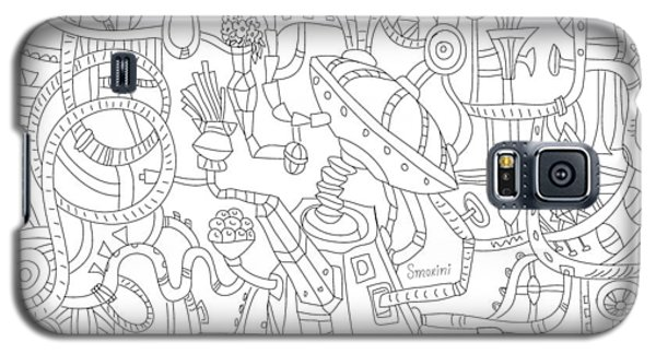 Two Worlds Galaxy S5 Case