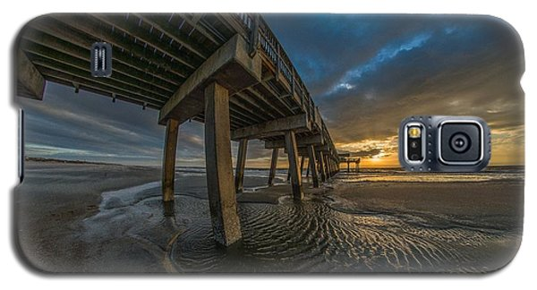 Tybee Island Beach Pier  Galaxy S5 Case