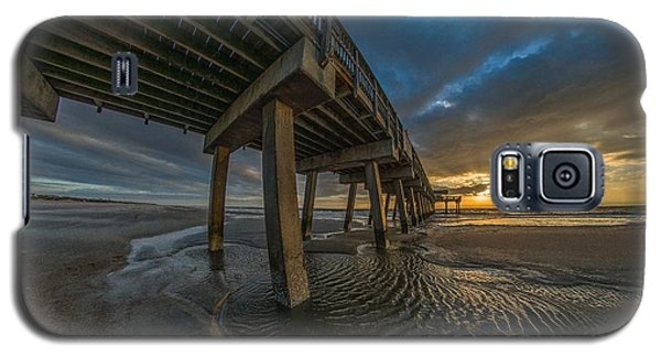 Tybee Island Beach Pier  Galaxy S5 Case