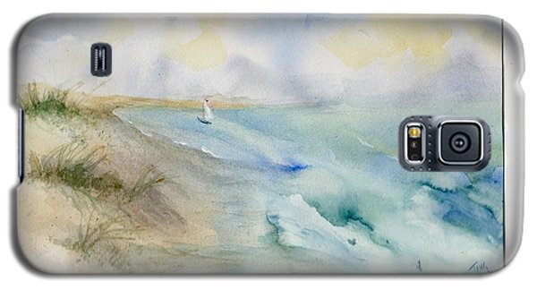 Galaxy S5 Case featuring the painting Tybee Memory by Doris Blessington