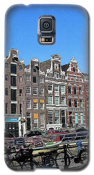 Typical Houses In Amsterdam Galaxy S5 Case