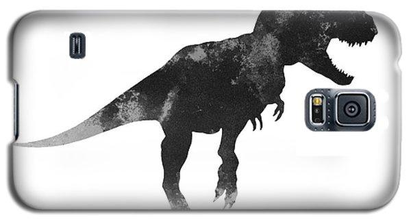 Tyrannosaurus Figurine Watercolor Painting Galaxy S5 Case