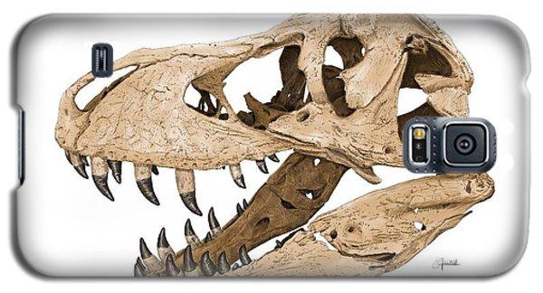Tyrannosaurus Skull Galaxy S5 Case