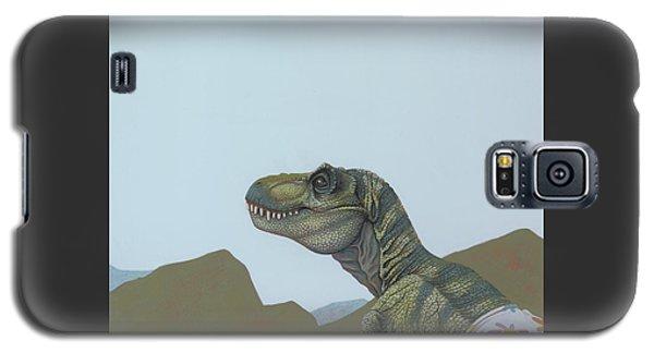 Tyranosaurus Rex Galaxy S5 Case by Jasper Oostland