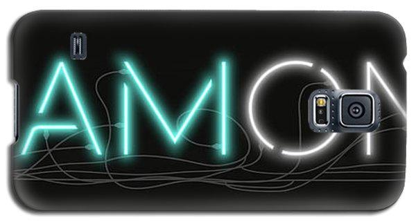 U Are Diamond - Neon Sign 1 Galaxy S5 Case