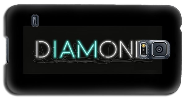 U Are Diamond - Neon Sign 1 Galaxy S5 Case