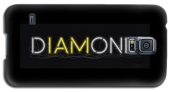 U Are Diamond - Neon Sign 2 Galaxy S5 Case