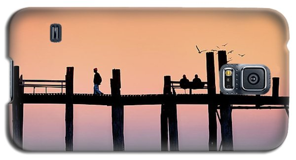 U-bein Bridge At Dawn Galaxy S5 Case