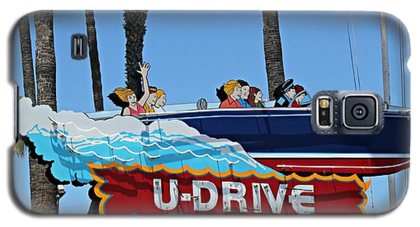 U-drive Boat Sign Galaxy S5 Case