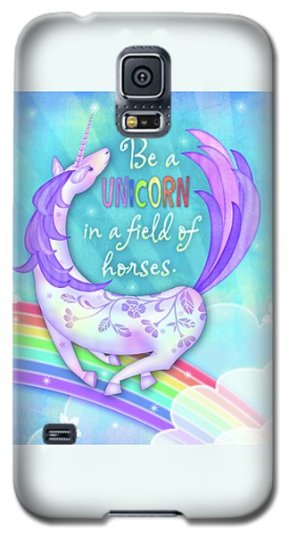 U Is For Unicorn Galaxy S5 Case