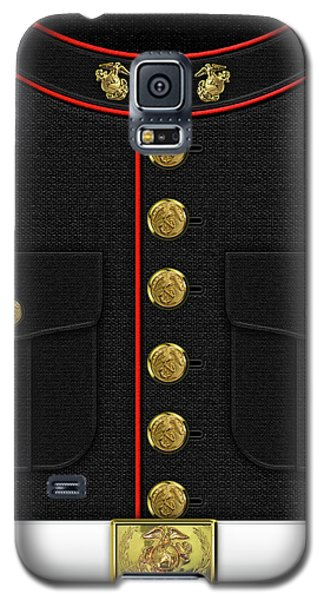 U S M C Dress Uniform Galaxy S5 Case