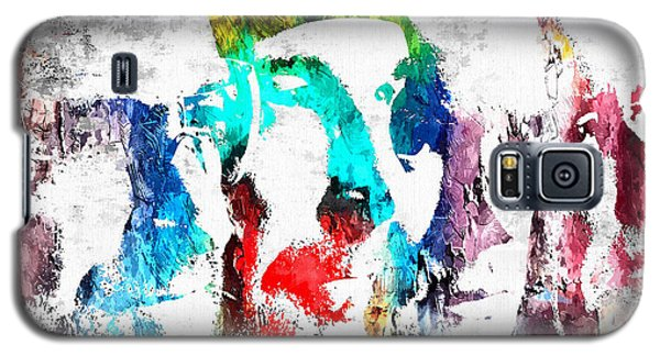 U2 Grunge Galaxy S5 Case by Daniel Janda
