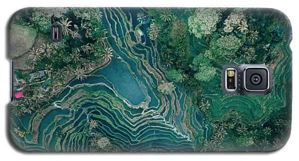Ubud Rice Terrace Galaxy S5 Case