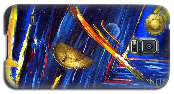UFO Galaxy S5 Case by Arturas Slapsys