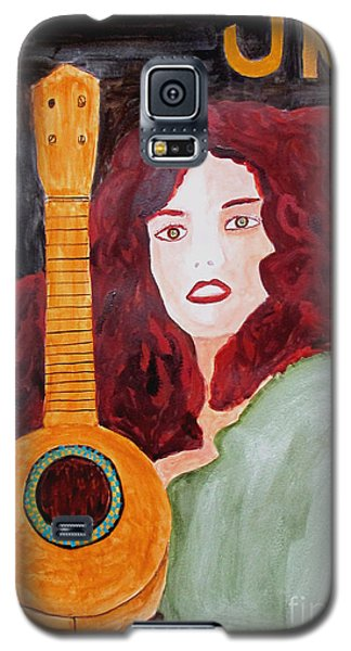 Galaxy S5 Case featuring the painting Uke by Sandy McIntire