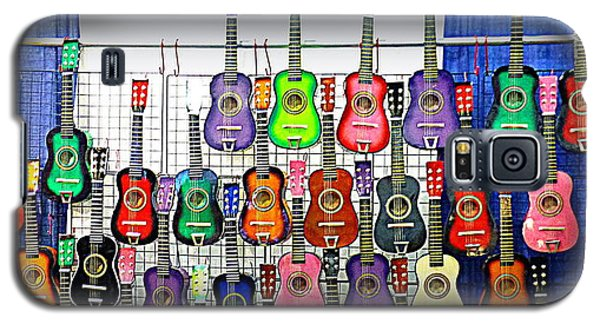 Galaxy S5 Case featuring the photograph Ukuleles At The Fair by Lori Seaman