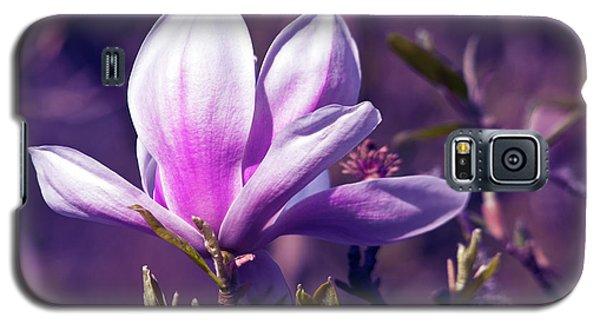 Ultra Violet Magnolia  Galaxy S5 Case