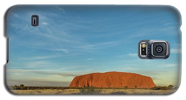 Galaxy S5 Case featuring the photograph Uluru Sunset 01 by Werner Padarin