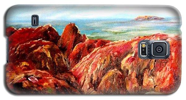 Uluru Viewed From Kata Tjuta Galaxy S5 Case