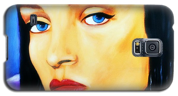 Uma Thurman In Pulp Fiction Galaxy S5 Case