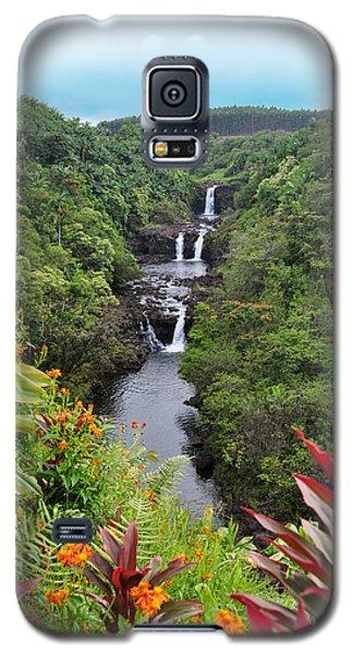 Umauma Falls Hawaii Galaxy S5 Case
