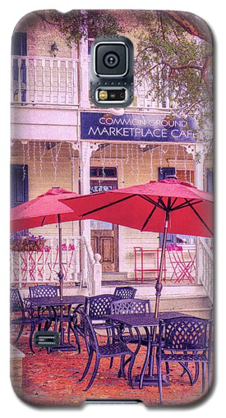Umbrella Cafe Galaxy S5 Case