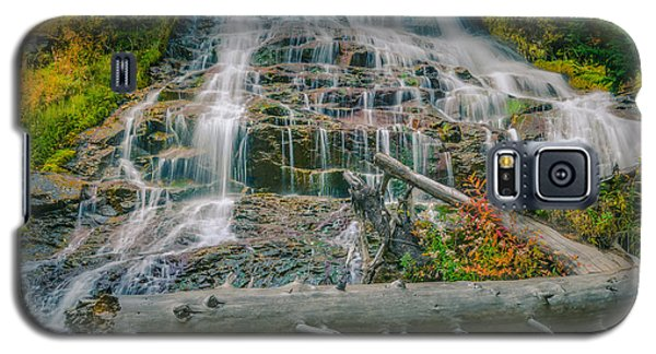 Umbrella Falls Galaxy S5 Case by Don Schwartz