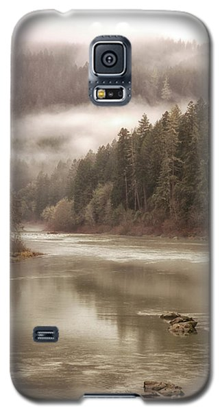 Umpqua River Fog Galaxy S5 Case