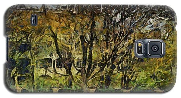 Un Cheteau Dans Le Paradis - One Of Two  Galaxy S5 Case by Sir Josef - Social Critic -  Maha Art
