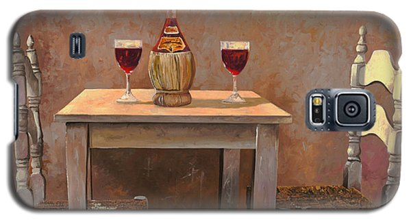 Wine Galaxy S5 Case - un fiasco di Chianti by Guido Borelli