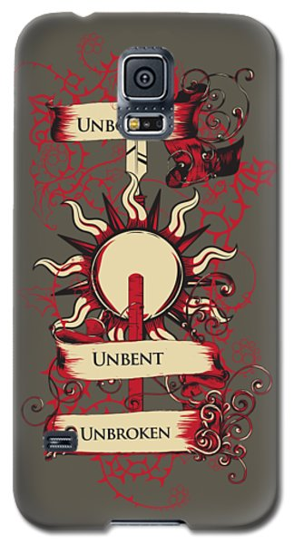 Unbowed Unbent Unbroken Galaxy S5 Case