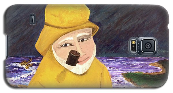 Galaxy S5 Case featuring the painting Uncle Bunk by Thomas Blood