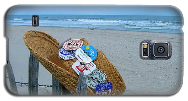 Uncle Carl's Beach Hat Galaxy S5 Case by Nancy Patterson