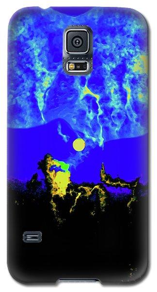 Under A Full Moon Galaxy S5 Case