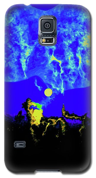 Under A Full Moon Galaxy S5 Case