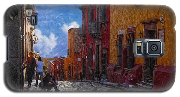 Under A Van Gogh Sky Galaxy S5 Case