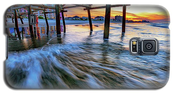 Under Cherry Grove Pier 2 Galaxy S5 Case