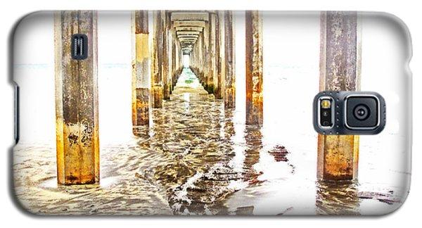 Under Scripps Pier Galaxy S5 Case by Ruth Jolly