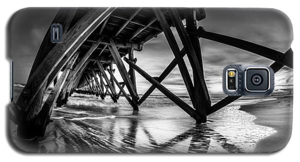 Under Sea Cabin Pier At Sunset Galaxy S5 Case